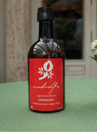 Aceite de oliva virgen extra Arbequina AdolfoColeccion